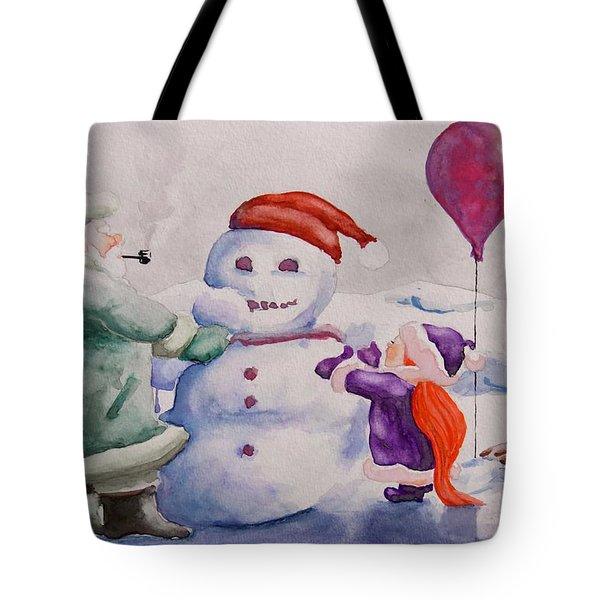 It's Cold Grandpa Tote Bag