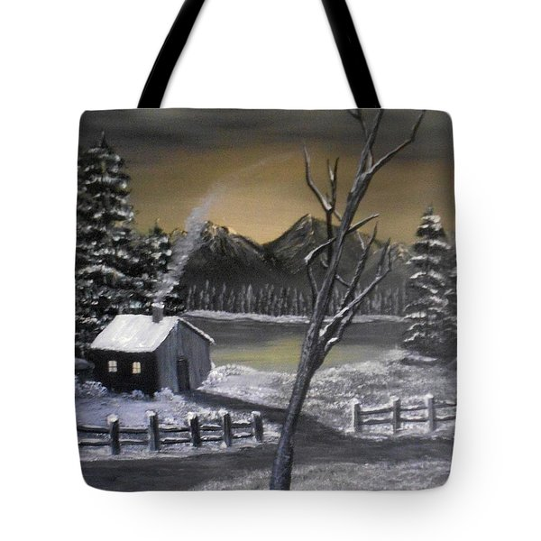 It's Cold Outside Tote Bag by Sheri Keith
