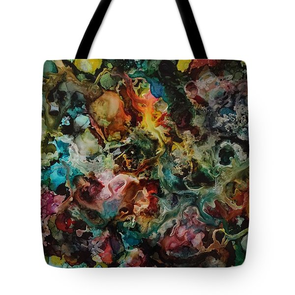 It's Complicated Tote Bag by Alika Kumar