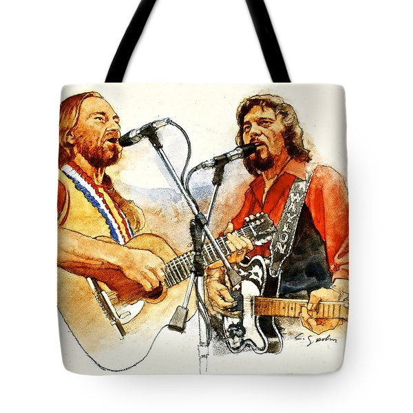 Its Country - 7  Waylon Jennings Willie Nelson Tote Bag