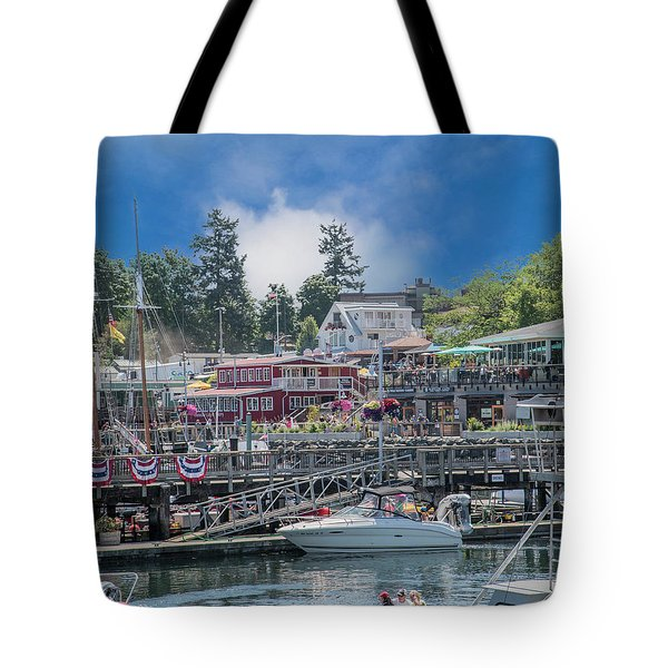 It's Gonna Be A Bright Sunshiny Day Friday Harbor Tote Bag