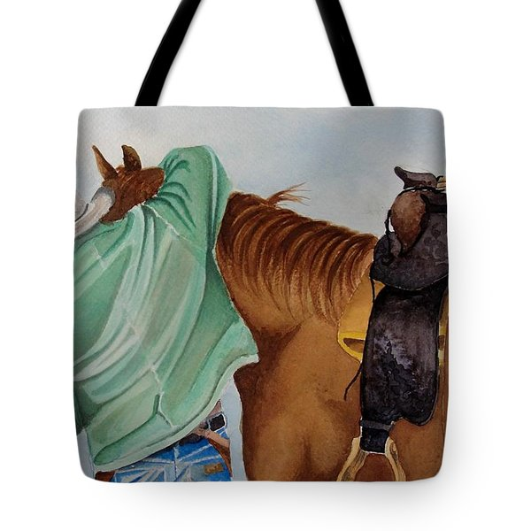 Its Just Us Tote Bag by Jimmy Smith