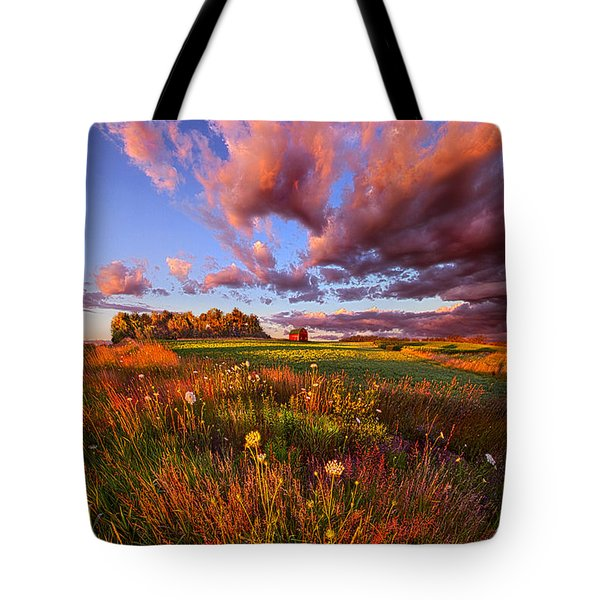It's Like Going To Heaven With Your Feet Still On The Ground Tote Bag
