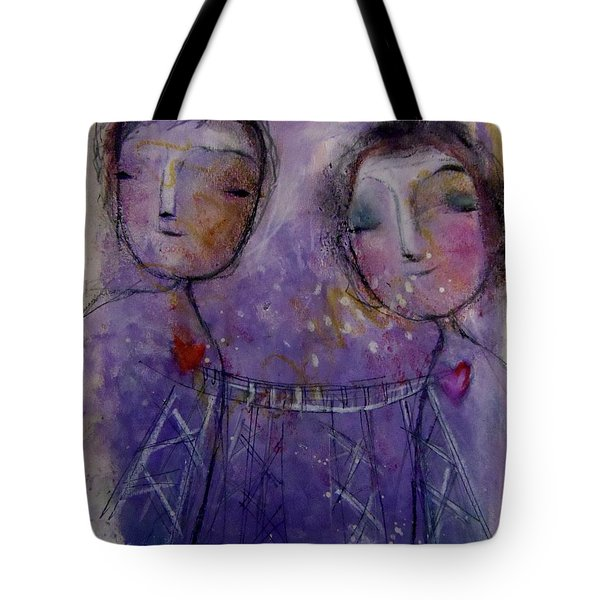 It's Love Talking Tote Bag