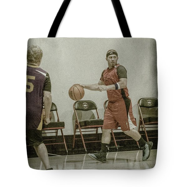 Tote Bag featuring the photograph It's My Ball by Ronald Santini