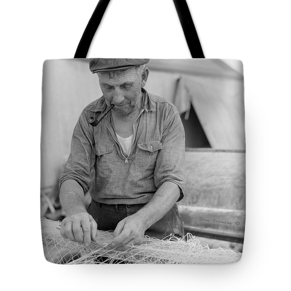 Tote Bag featuring the photograph It's My Job by John Stephens