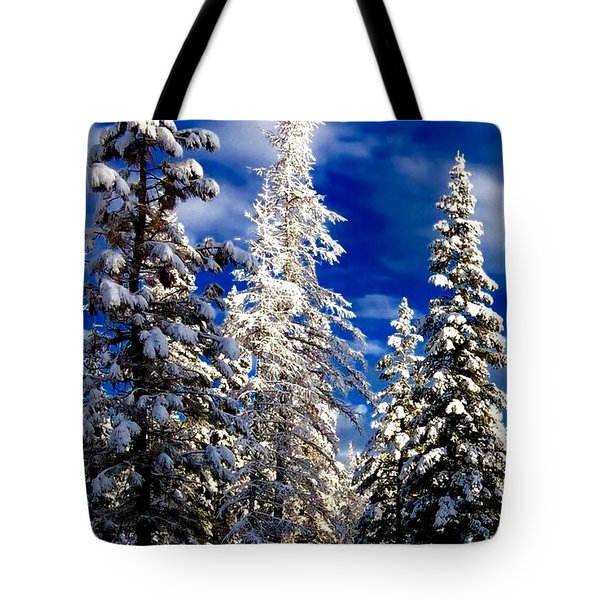 Its Now Crystal Clear Tote Bag by Jennifer Lake