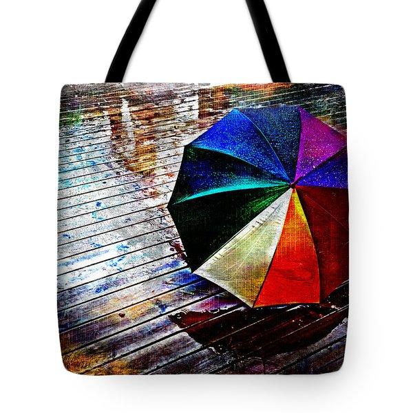 It's Raining Again Tote Bag