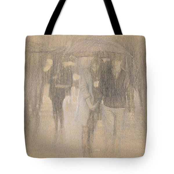 It's Raining In Georgia Tote Bag by Angela A Stanton