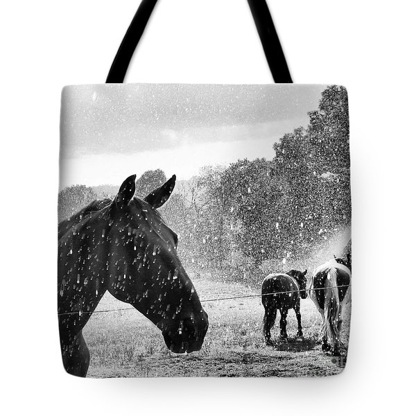 It's Raining Tote Bag