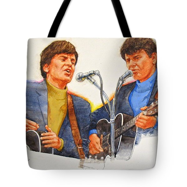 Its Rock And Roll 4  - Everly Brothers Tote Bag