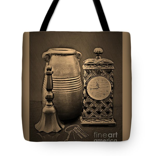 It's Time For... Tote Bag by Sherry Hallemeier