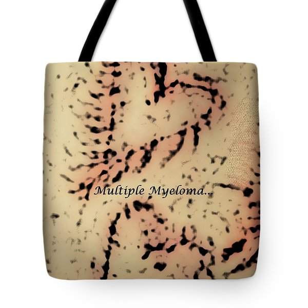 It's Time To Find A Cure... Tote Bag