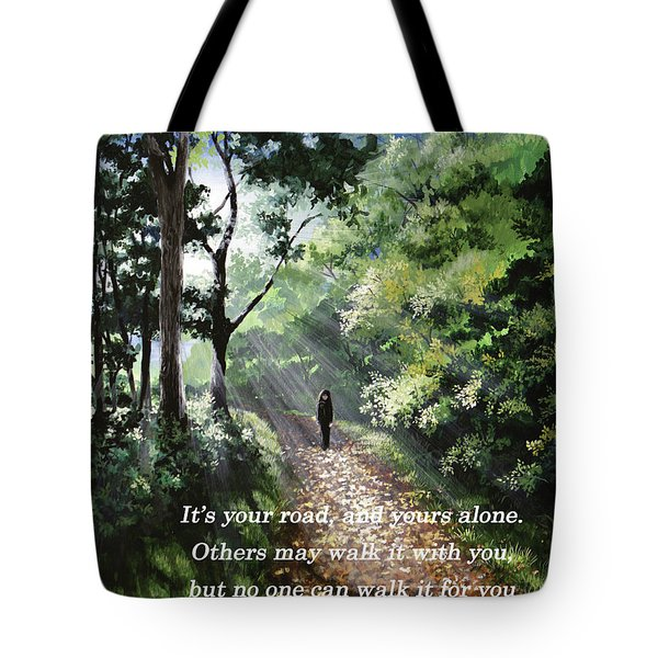 It's Your Road Tote Bag