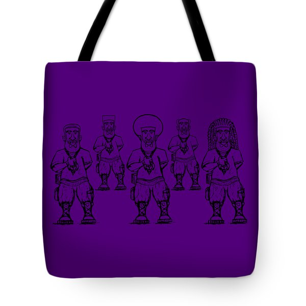 Iuic Soldier 1 W/outline Tote Bag