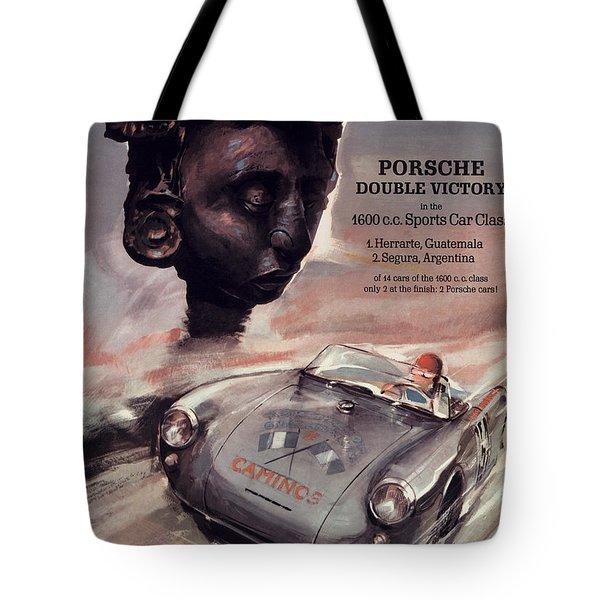 Iv Carrera Panamericana Porsche Poster Tote Bag