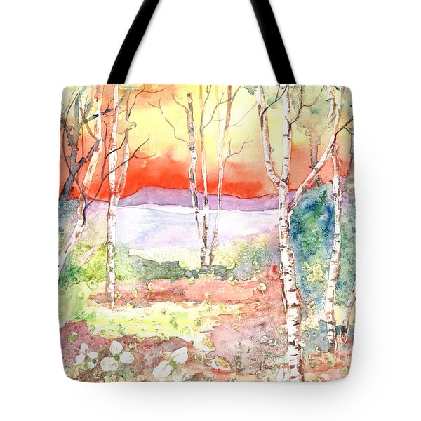 Tote Bag featuring the painting Ivan's Eve by Renate Nadi Wesley
