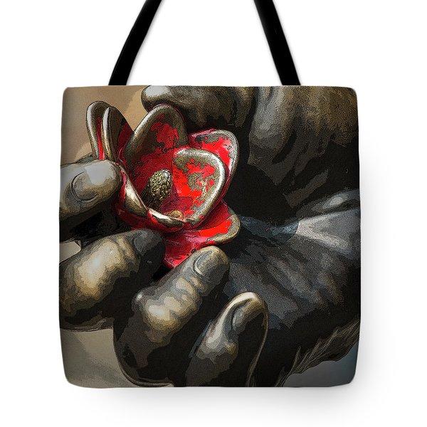 Ivan's Hand Tote Bag