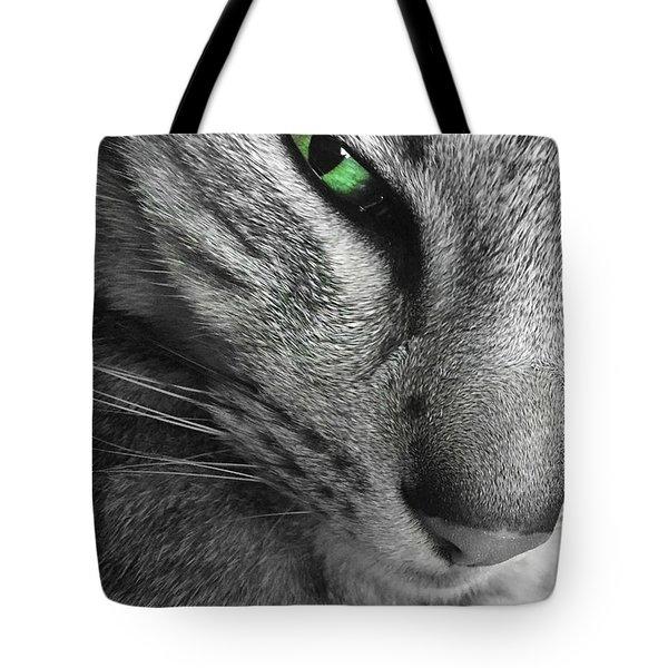 I've Got My Eye On You.  Tote Bag