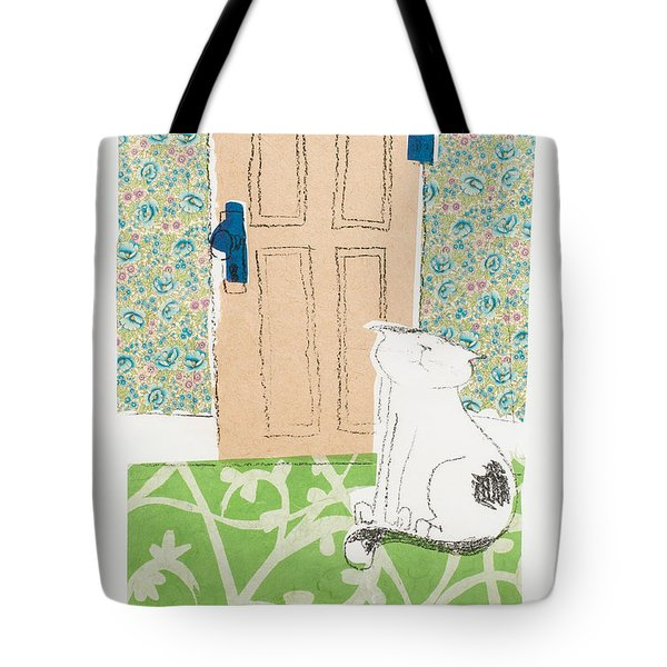 Ive Got Places To Go People To See Tote Bag by Leela Payne
