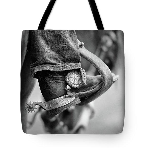 I've Got Spurs - Three Bars Ranch Tote Bag