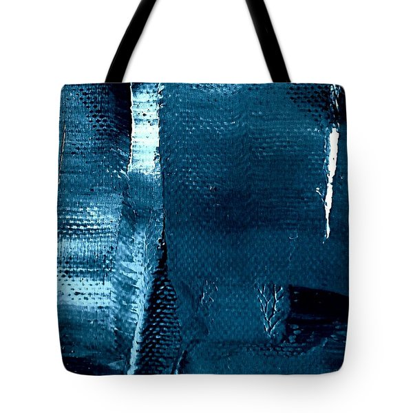 Tote Bag featuring the painting I've Got The Blues by VIVA Anderson