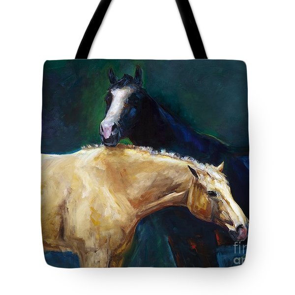 I've Got Your Back Tote Bag by Frances Marino