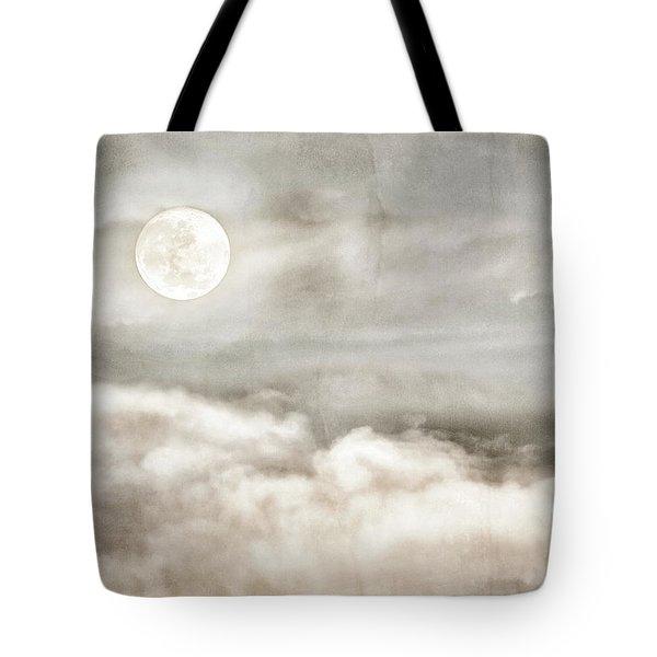 Ivory Moon Tote Bag