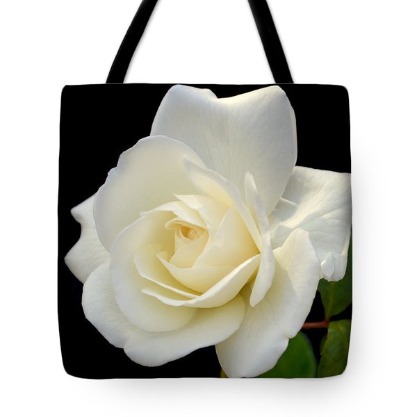 Ivory Rose. Tote Bag by Terence Davis