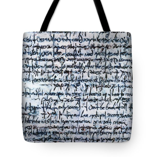 Ivory Tower Blues Tote Bag