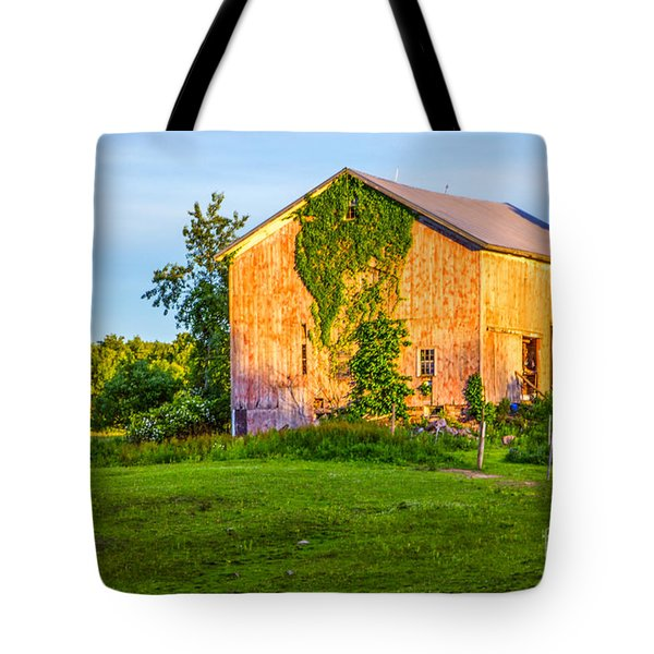 Ivy League Barn Tote Bag