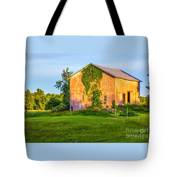 Ivy League Barn Tote Bag