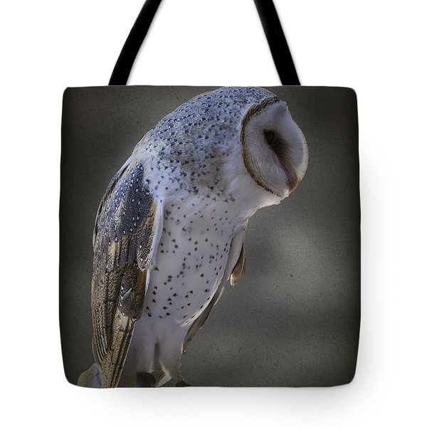 Ivy The Barn Owl Tote Bag