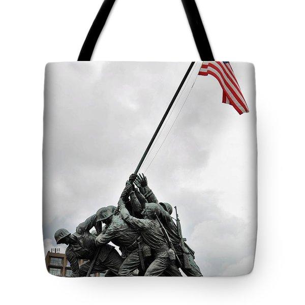 Iwo Jima Memorial Tote Bag