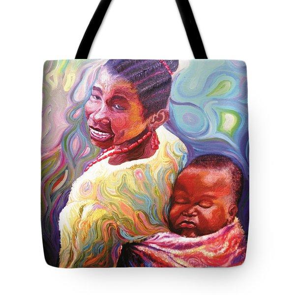 Iyaniwura  Tote Bag by Bankole Abe