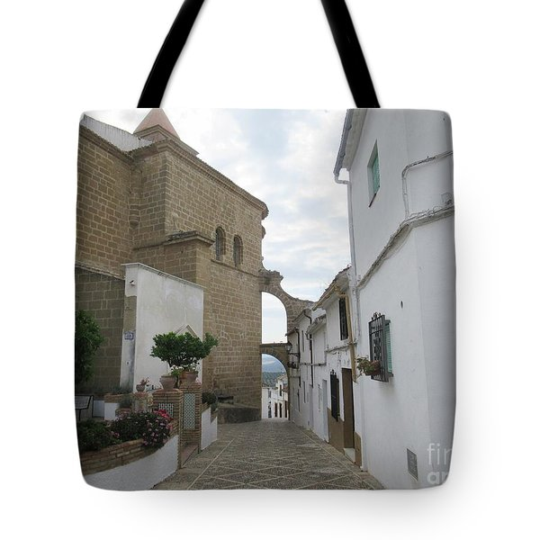 In The Centre Of Iznajar Tote Bag