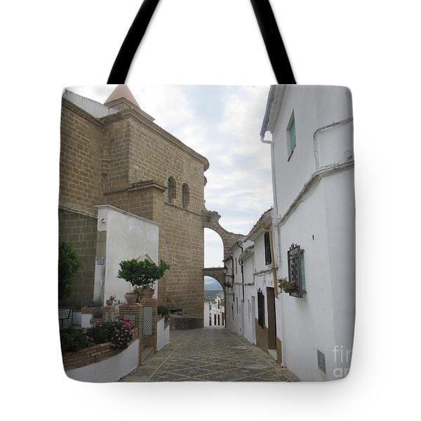 In The Centre Of Iznajar Tote Bag