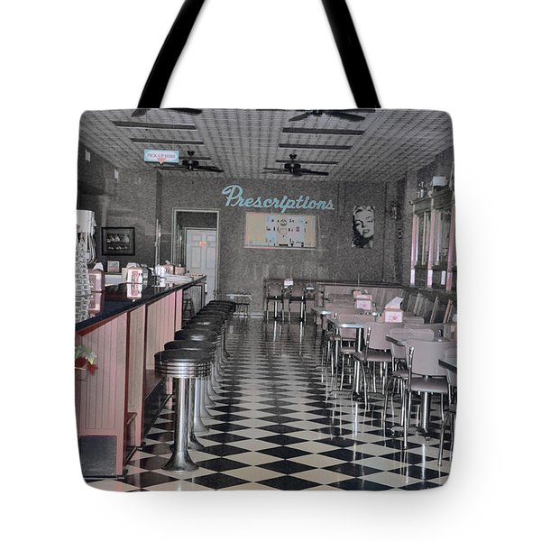 Izzo's Drugstore Tote Bag by Jan Amiss Photography