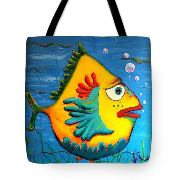 Izzy On The Itch Tote Bag by Vickie Scarlett-Fisher