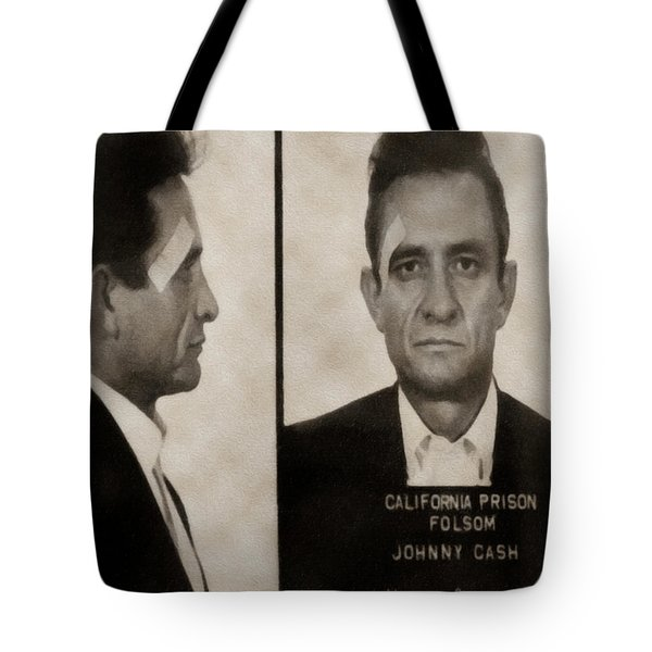 J Cash Tote Bag by David Millenheft