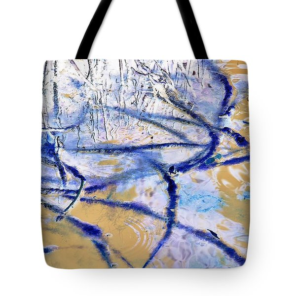 Blue Mangrove Tote Bag