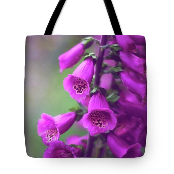 Fancy Foxglove Tote Bag