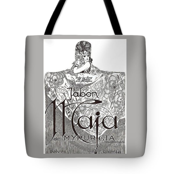Tote Bag featuring the digital art Jabon by ReInVintaged