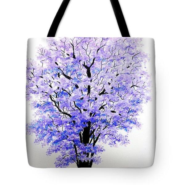 Jacaranda Time Tote Bag by Karin  Dawn Kelshall- Best
