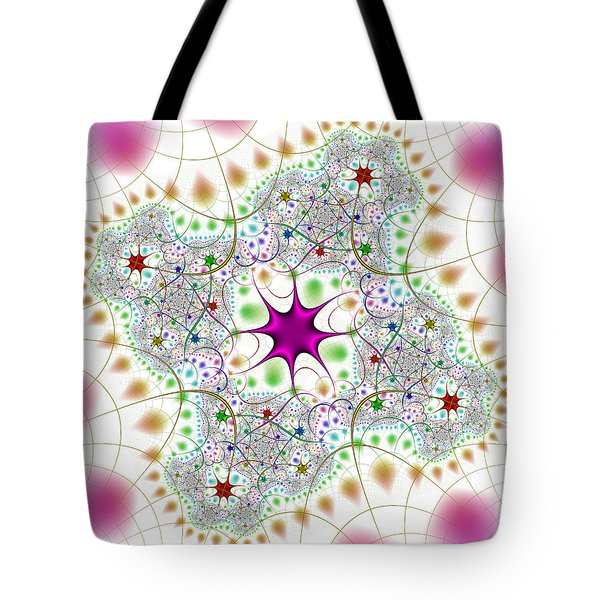 Tote Bag featuring the digital art Jacheracke by Andrew Kotlinski