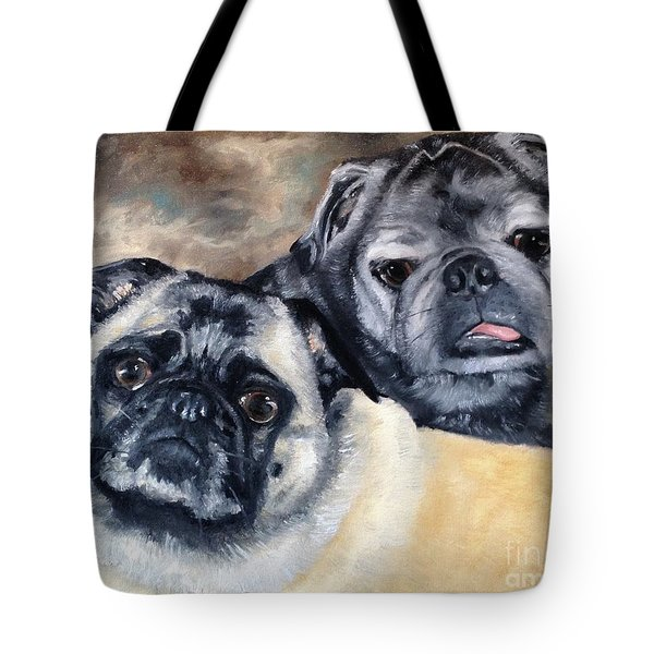 Jack And Bella Tote Bag by Diane Daigle