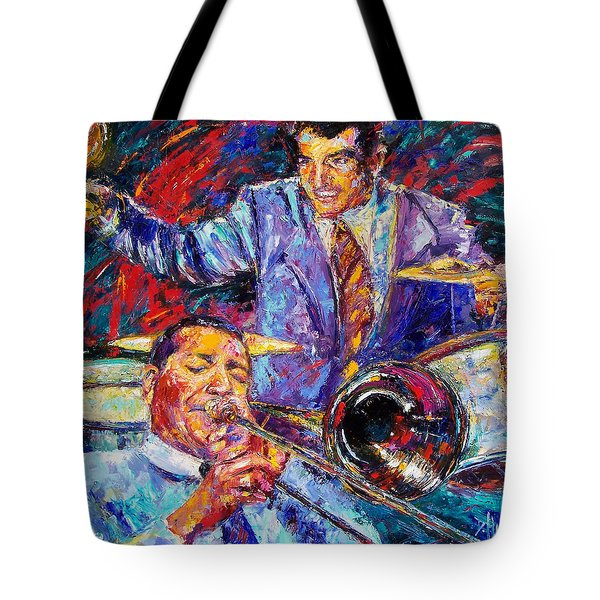 Jack And Gene Tote Bag by Debra Hurd