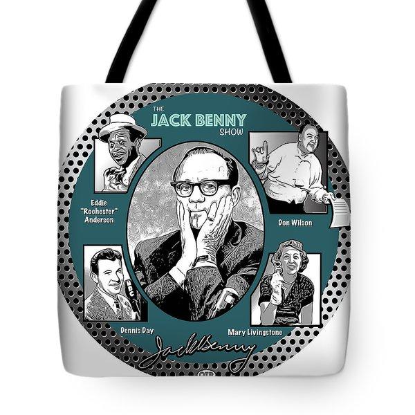 Jack Benny Show Tote Bag