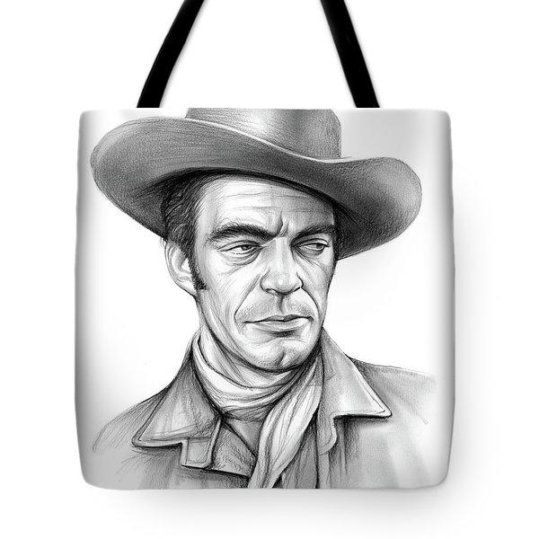 Cowboy Jack Elam Tote Bag