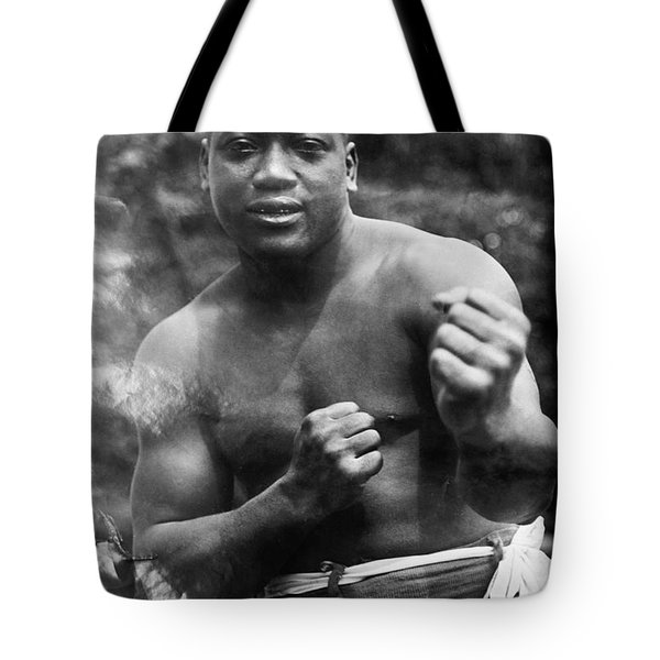 Jack Johnson (1878-1946) Tote Bag by Granger